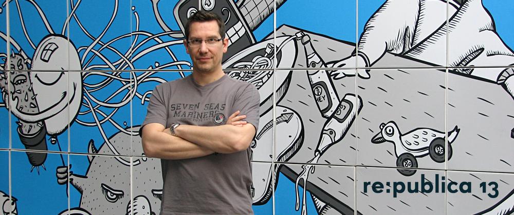 Ralf Heinrich auf der re:publica 13