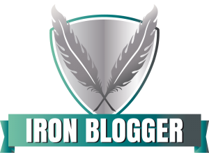 Iron Blogger Logo (by Inken Meyer, meyola.de)
