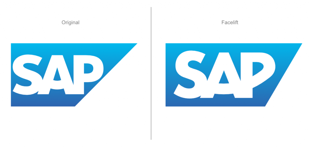 SAP Logo Facelift