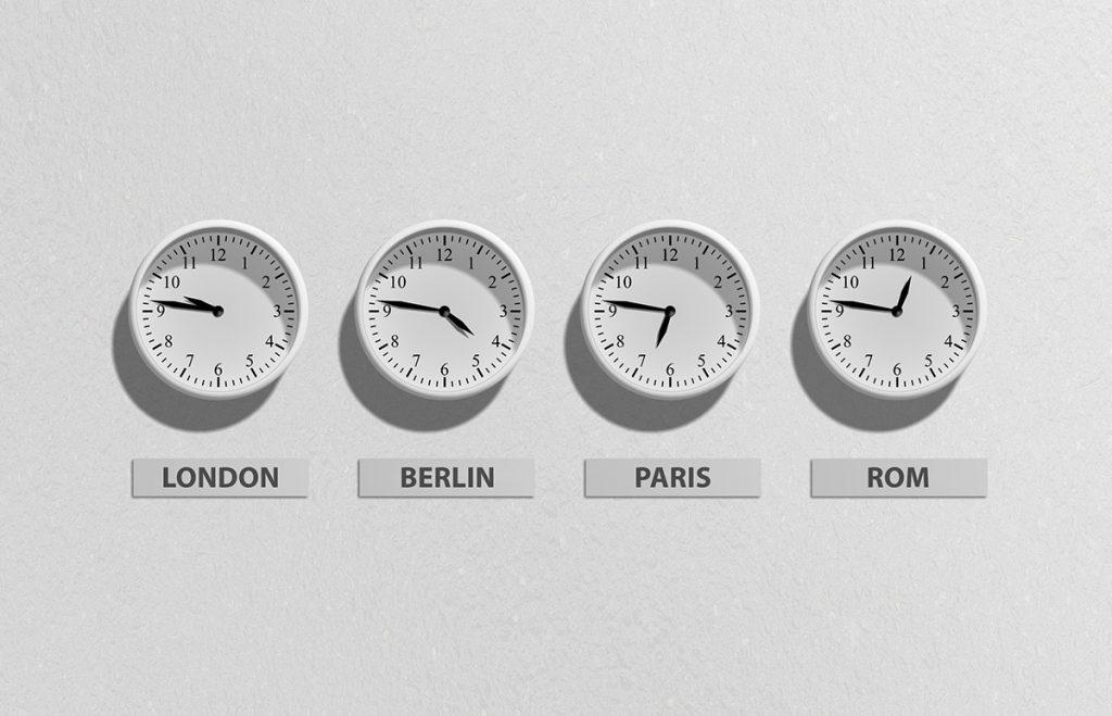 Zeitzonen Symbolbild
