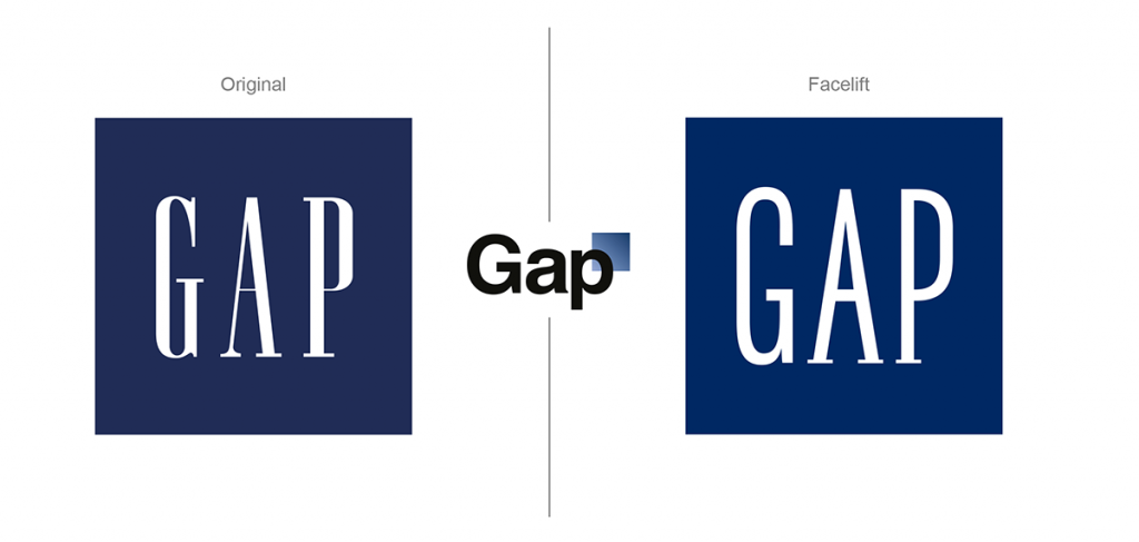 Gap Logo Facelift
